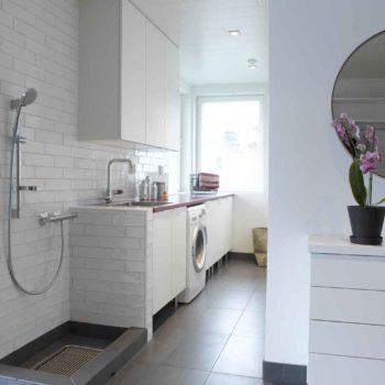 Välplanerat badrum