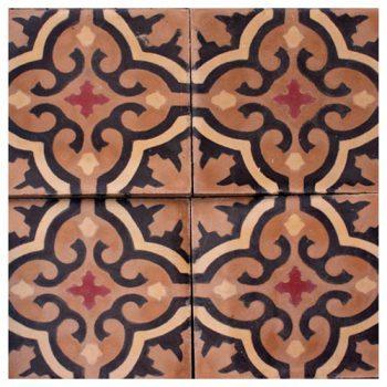 Klassiska marockanska cementplattor från Sidsid